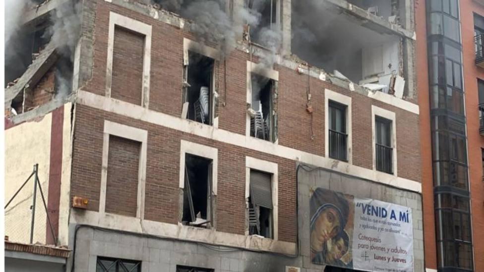 Fallece David Santos, el electricista que revisaba una de las calderas que provocó la explosión en el edificio
