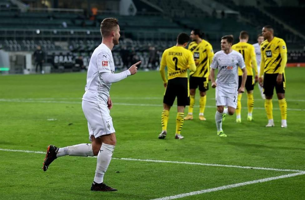 El Mönchengladbach desplaza al Borussia de los puestos de Champions