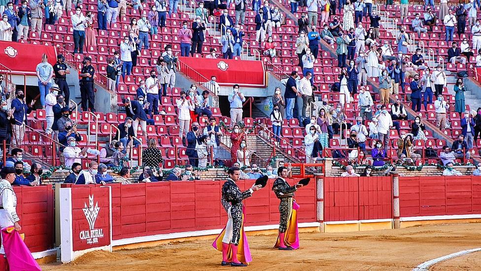Morante de la Puebla y Juan Ortega en Córdoba el pasado 12 de octubre, Dia de la Hispanidad