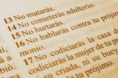 """El mensaje actual que aparece reflejado en el quinto mandamiento: """"No matarás"""" - Vivir la Fe - COPE"""