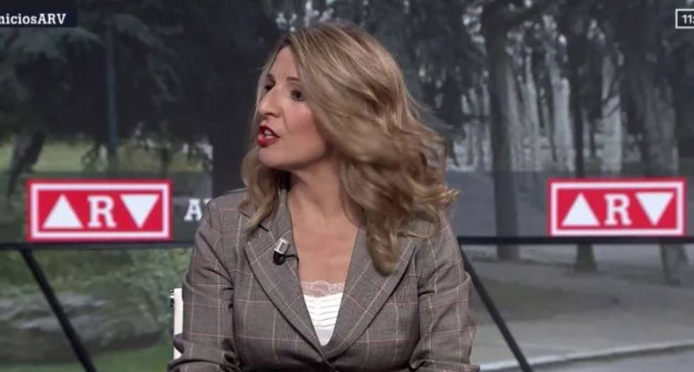 Yolanda Díaz pega un patinazo en plena entrevista en La Sexta por culpa del lenguaje inclusivo