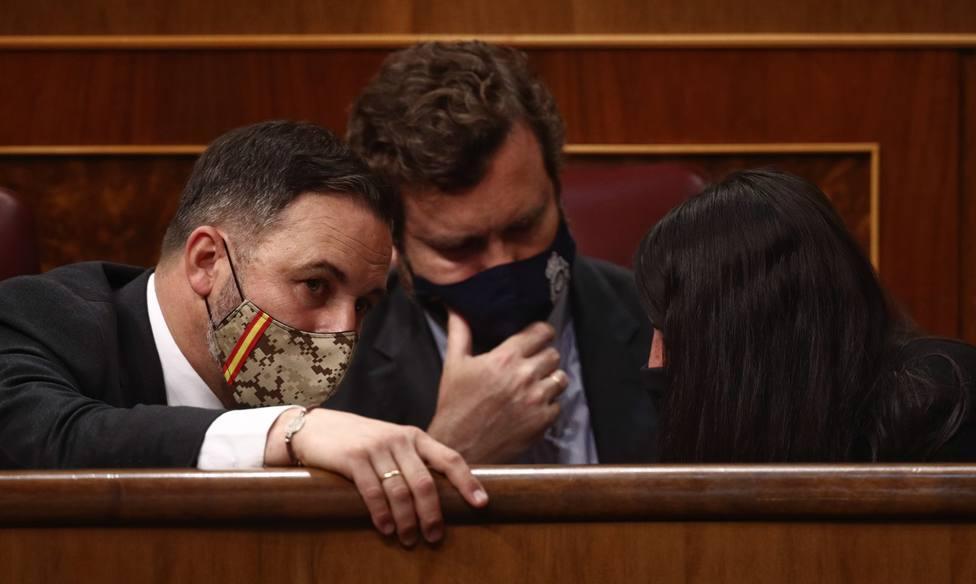 Vox pedirá la reprobación de Marlaska, Montero, Belarra y Maroto por difamar al partido en la campaña del 4-M