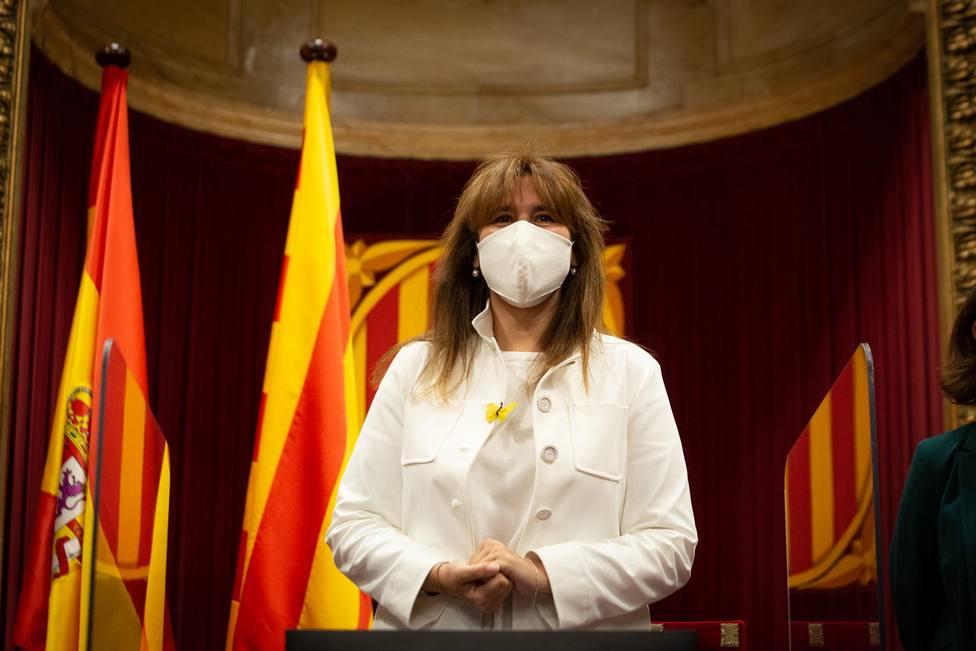 La presidenta del Parlament, Laura Borràs - David Zorrakino - Europa Press
