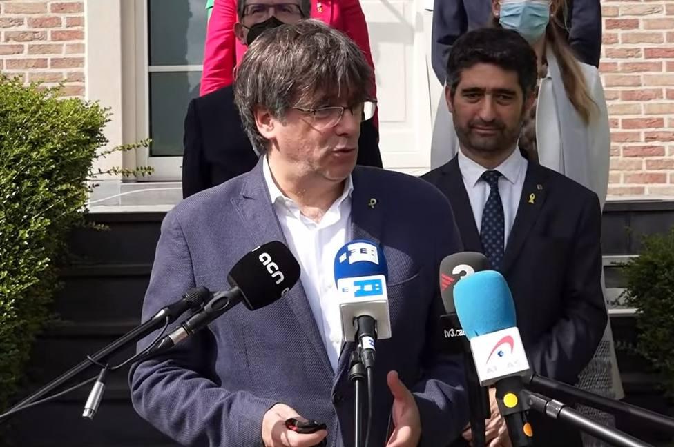 Laura Borràs y Puigdemont vuelven a criticar con dureza el discurso de Sánchez sobre los indultos