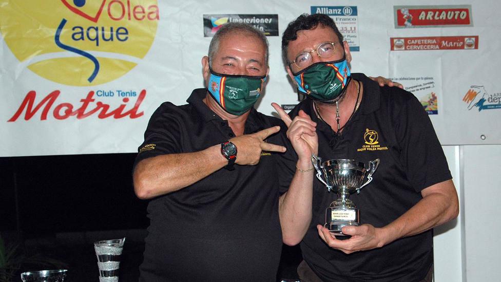 Antonio Rubiño gana liga y copa del XXIX Trofeo de Tenis 'Ciudad de Motril'
