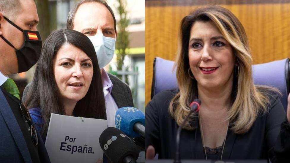 El rifirrafe entre Susana Díaz y Macarena Olona que ha hecho saltar chispas: No te he insultado