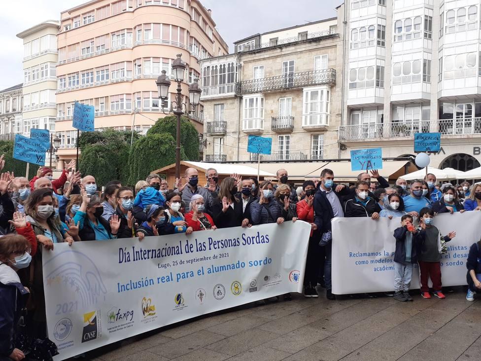 Celebración en Lugo do Día Internacional das Persoas Xordas