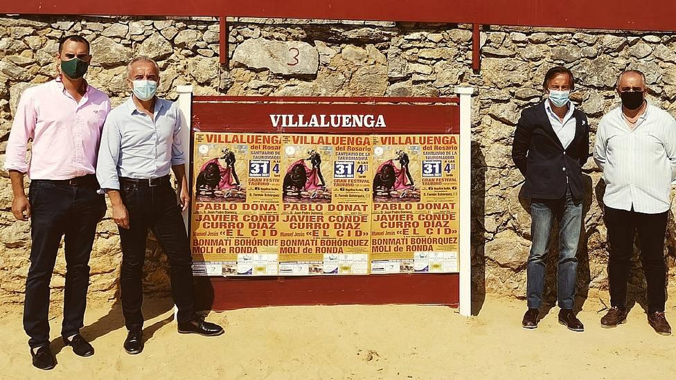 Acto de presentación del festival de Villaluenga del Rosarío