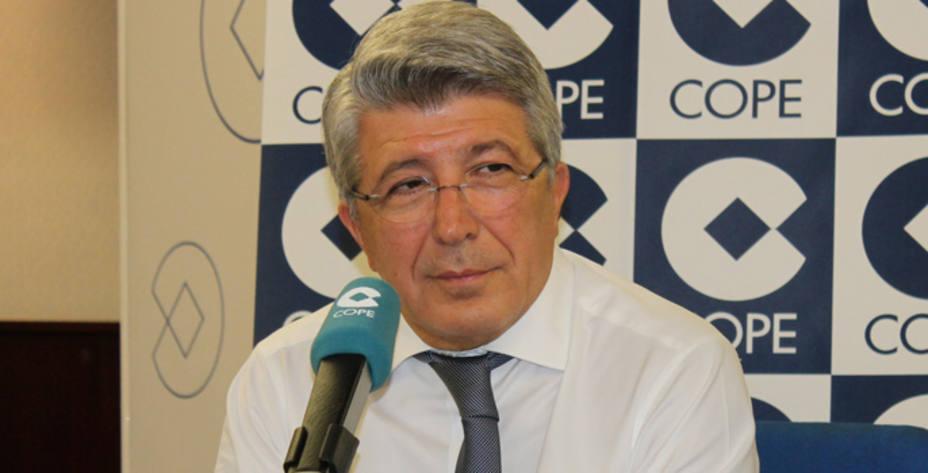 Enrique Cerezo, en El Partido de las 12