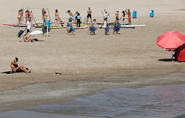 La llegada de turistas cae el 4,9% en julio, el mayor descenso en ocho años