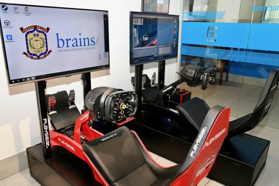 La Fundación CINNED quiere impulsar los eSports en los colegios a través de simuladores de Fórmula 1