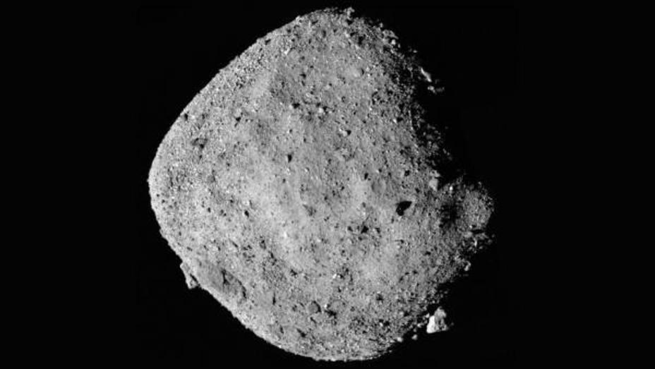 La NASA encuentra agua en el asteroide Bennu