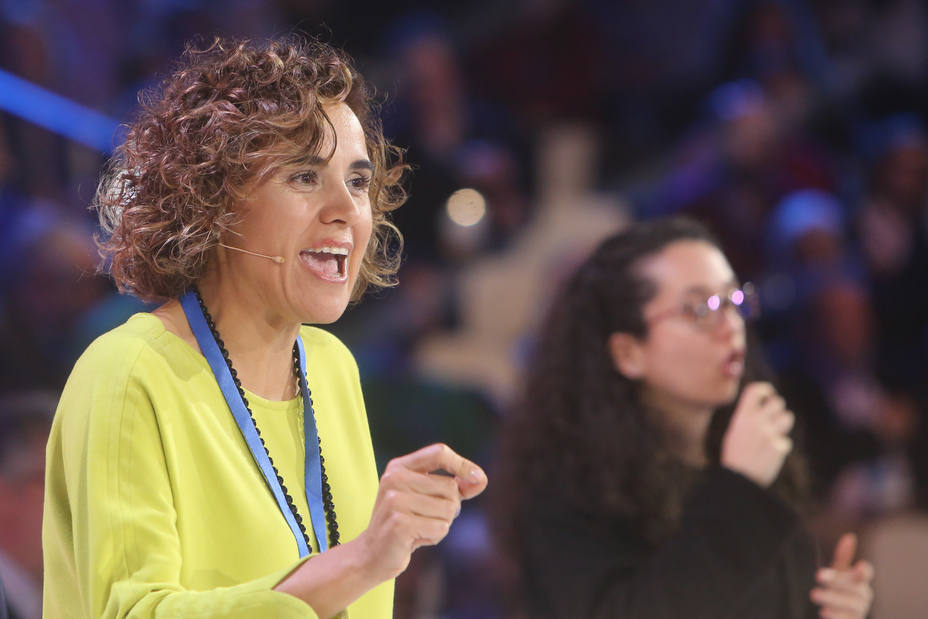 Montserrat (PP) también equipara el independentismo catalán con el chantaje y la violencia que ejercía ETA