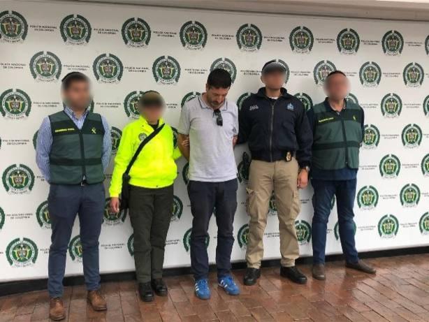 Detenido en Colombia el líder de una organización delictiva dedicada a la estafa múltiple