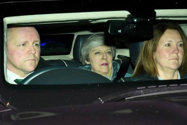 Theresa May en imagen de archivo
