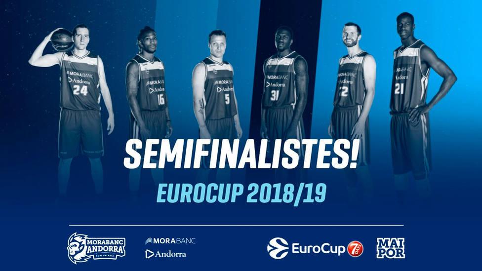 Morabanc Andorra, clasificado para semifinales (@morabancandorra)