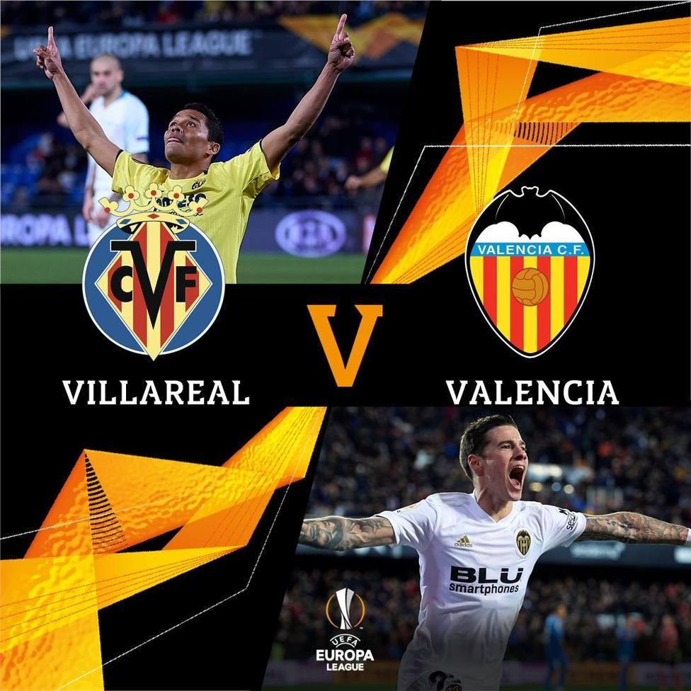 Villarreal-Valencia en los cuartos de la Europa League
