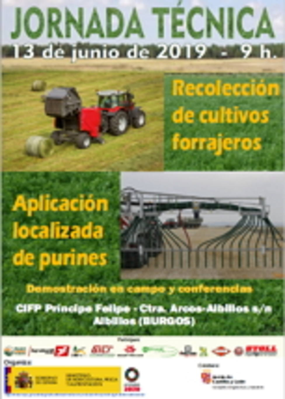 Cartel Jornada Técnica Agricultura