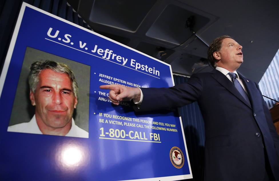 (reissued 10 August 2019). US media reported that Epstein was found dead in his prison cell on 10 August 2019 morning in the MCC Manhattan while awaiting trial on sex trafficking charges. An official confirmation by authorities of his death is pendin