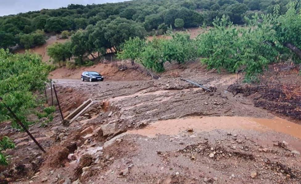 El Ayuntamiento de Torres pide precaución a los conductores en la carretera a Mancha Real