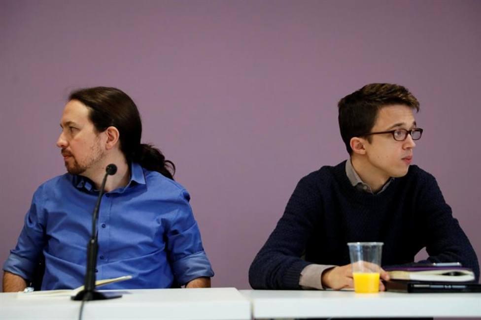 Pablo Iglesias e Ínigo Errejón en una imagen de archivo