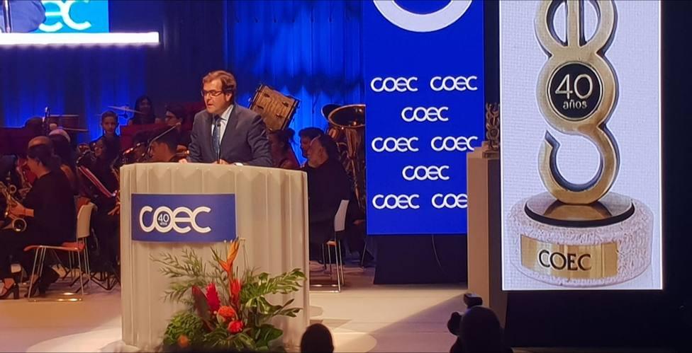 Coec celebra su 40 aniversario y entrega sus Premios de Excelencia Empresarial