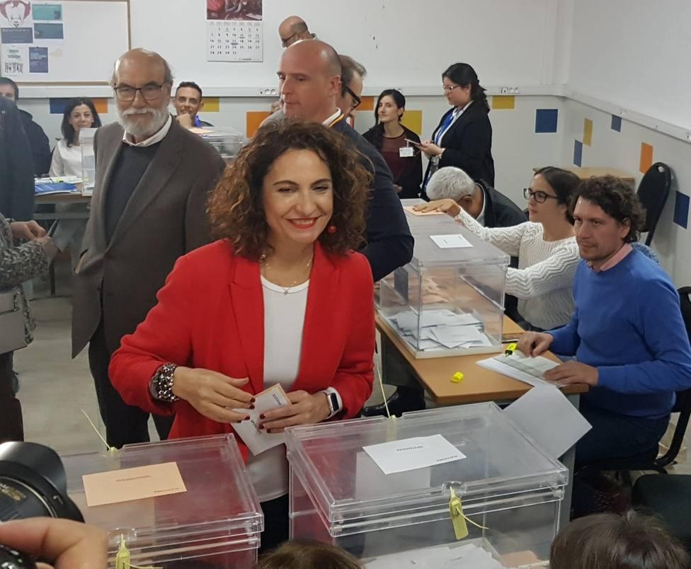 Montero, convencida de una victoria reforzada del PSOE que acabe con el bloqueo y permita formar Gobierno