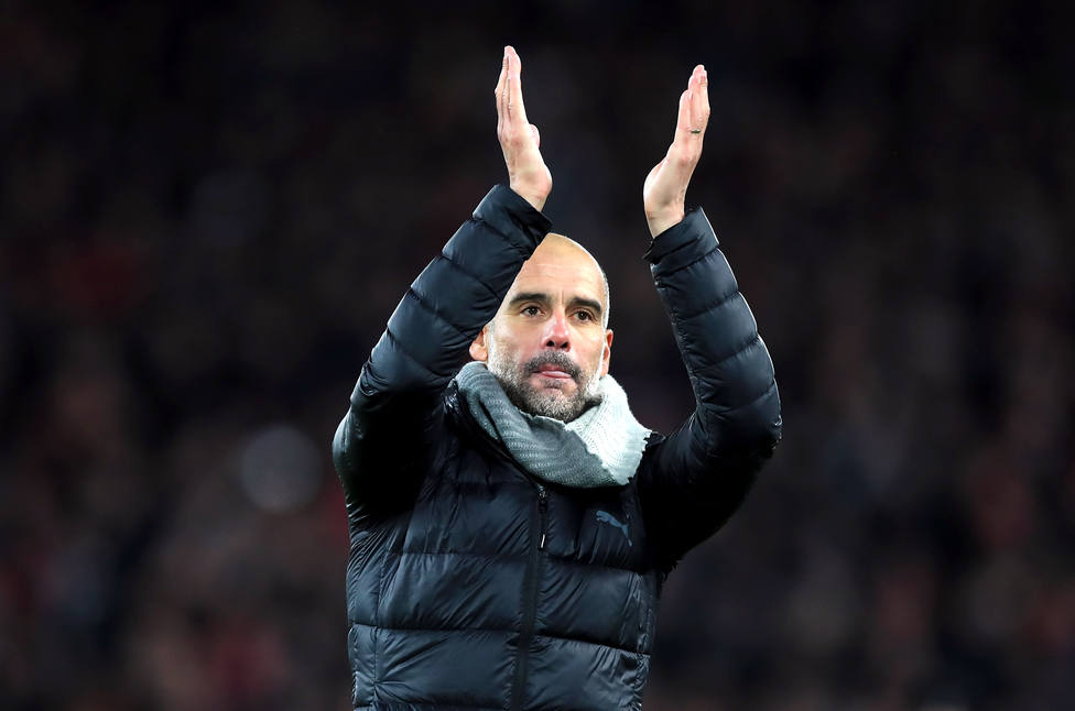 El agente de Guardiola descarta una posible vuelta al Bayern y remarca que está muy feliz en Manchester