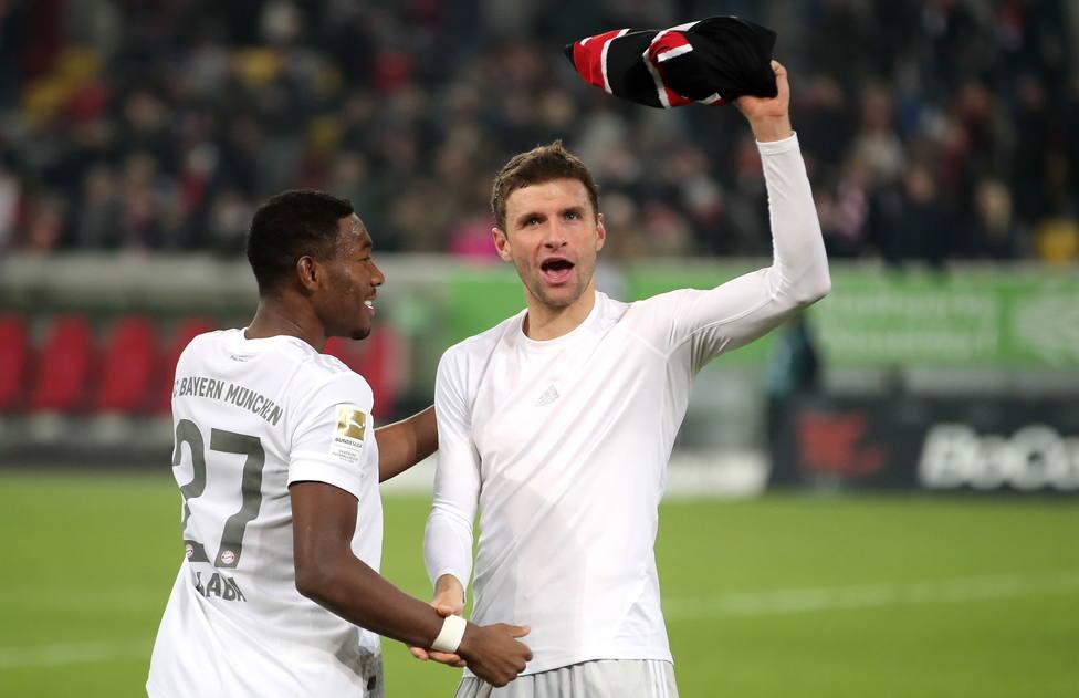 Fortuna Duesseldorf vs FC Bayern Muenchen