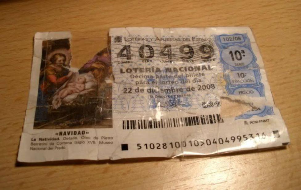 Esto es lo que debes hacer si rompes o si pierdes un décimo ganador de la Lotería