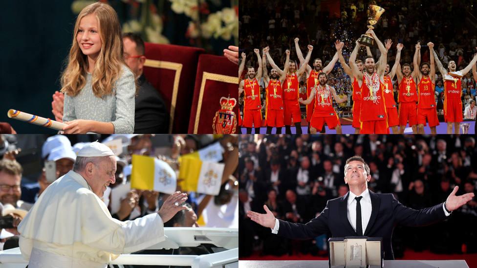 Las diez buenas noticias de 2019: el Congreso más plural, el debut de Leonor, Mundial de baloncesto y Davis…