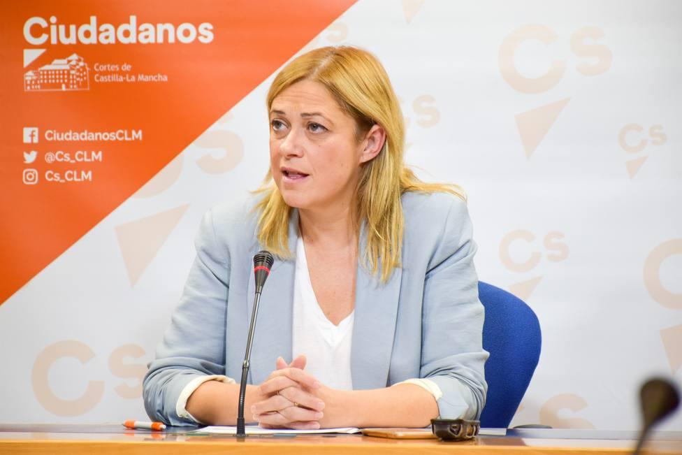 La Comisión Gestora Nacional de Cs designa a Carmen Picazo como portavoz del partido en Castilla-La Mancha