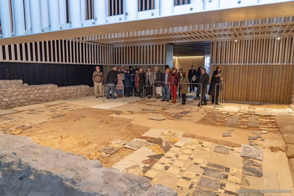 Castejón sigue sin fecha para la apertura del museo del Foro Romano