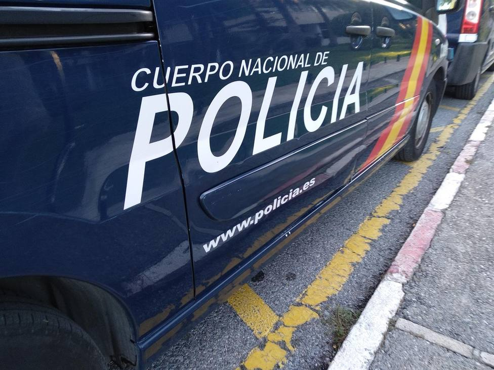 Imagen de uno de los coches de la Policía Nacional de Málaga.