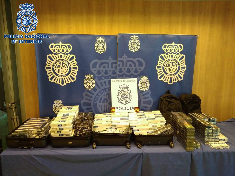 La Policía interviene 2.800 cajetillas de tabaco de contrabando en Logroño