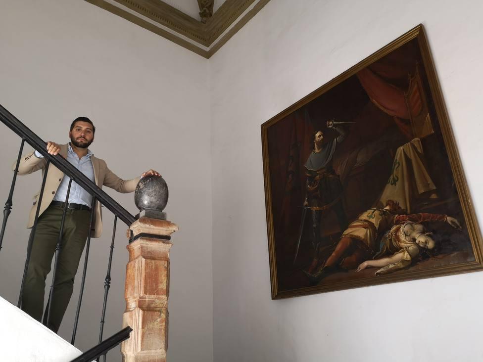 Una diputada de IU retira un cuadro del siglo XIX porque recuerda a un crimen machista