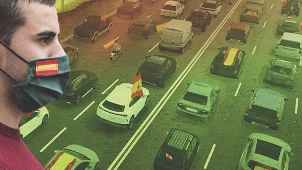 """La caravana de Vox por """"España y por su libertad"""" también saldrá el sábado en Lugo"""