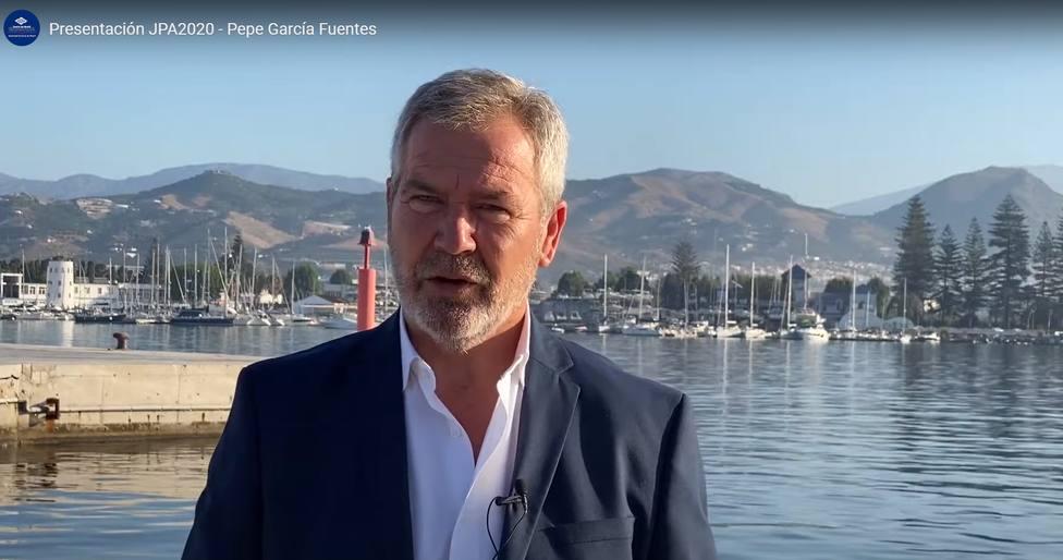 José García Fuentes, pte. Autoridad Portuaria