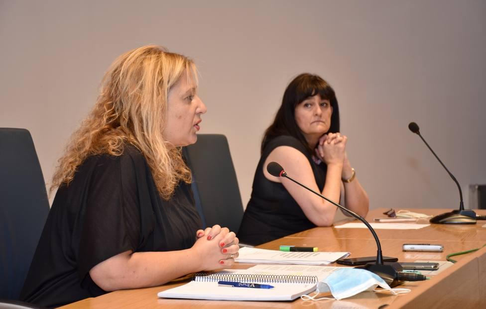 Yolanda de Gregorio y Elena del Vado han explicado en rueda de prensa la última hora del rebrote de Salduero