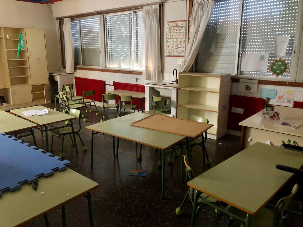 Comienzan las obras de la segunda fase de Edificant en el colegio Cervantes-Dualde de Betxí