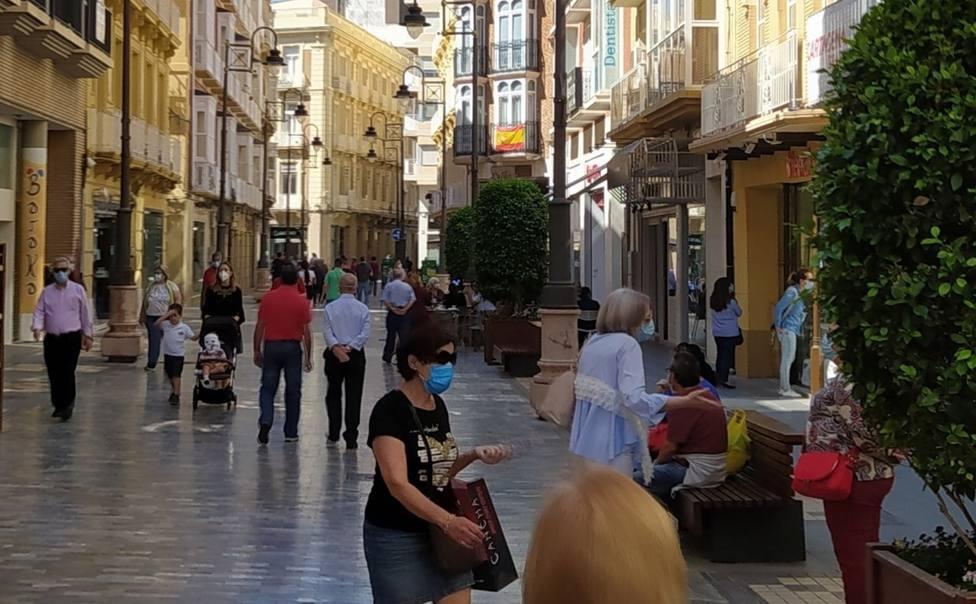 Denunciadas 284 personas en Cartagena por no llevar puesta la mascarilla