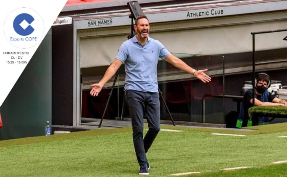Vicente Moreno tensa la cuerda con el Mallorca