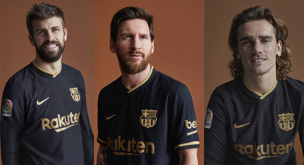 Nueva equipación del Barça para la 2020/21