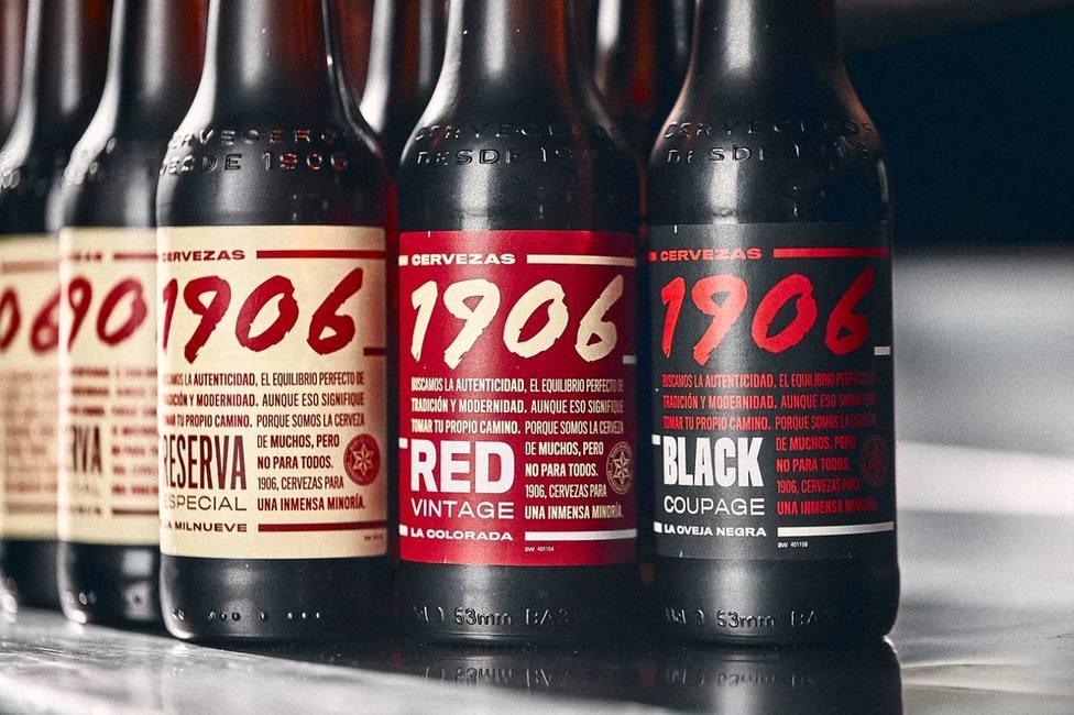 Cervezas 1906 de Estrella Galicia