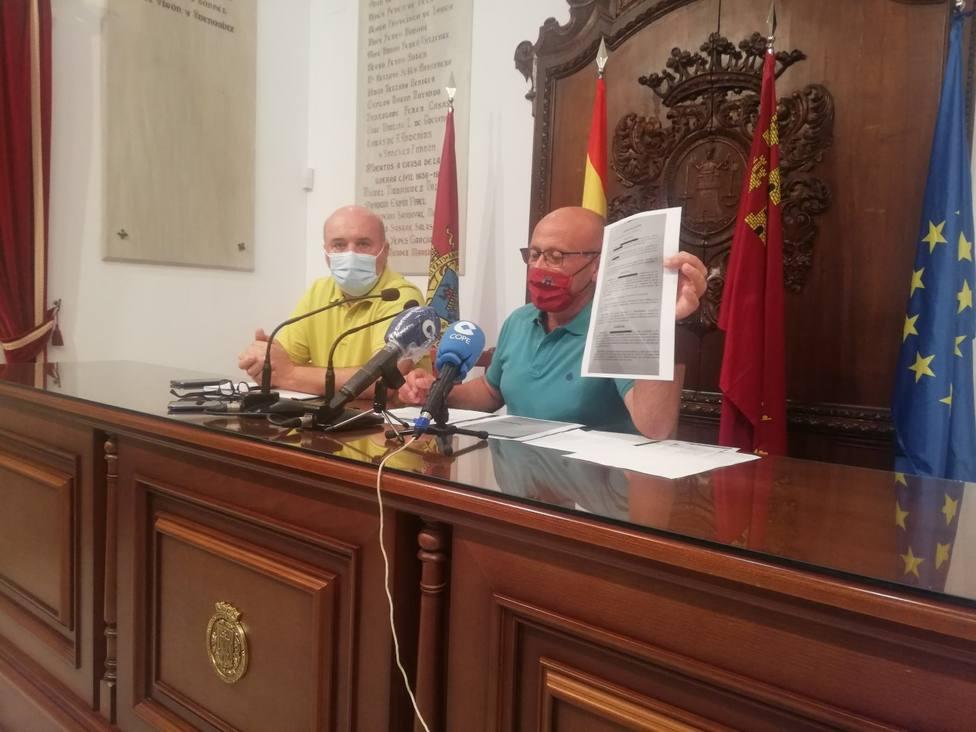 Pedro Sosa edil de IU Verdes estaba defendiendo a personas
