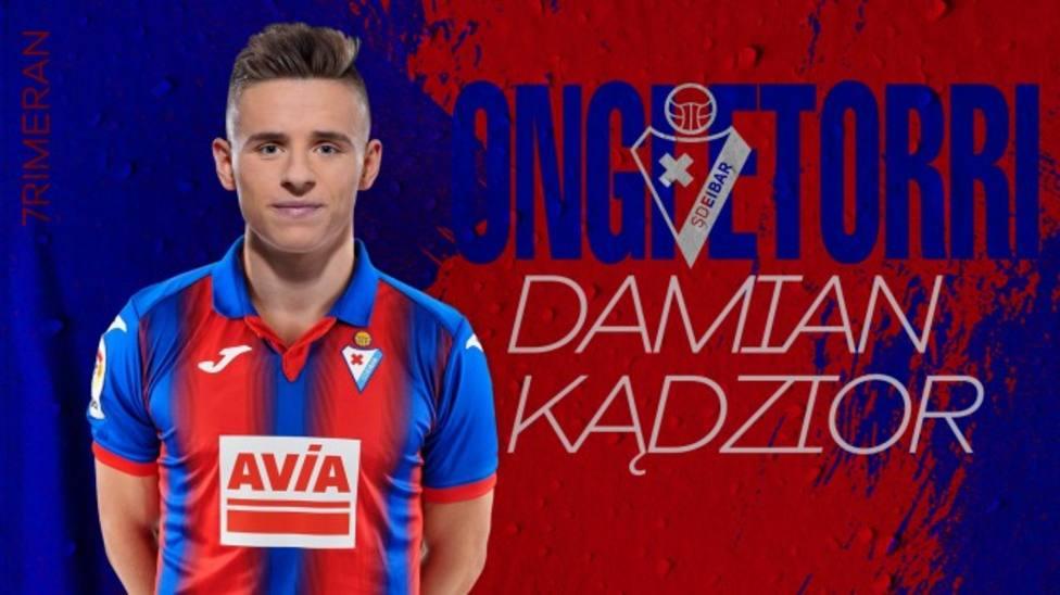 Darío Poveda refuerza la delantera del Getafe; Kadzior, nuevo jugador del Eibar