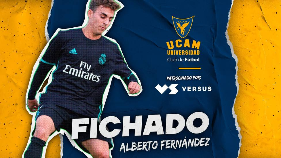 Alberto Fernández firma por UCAM Murcia CF
