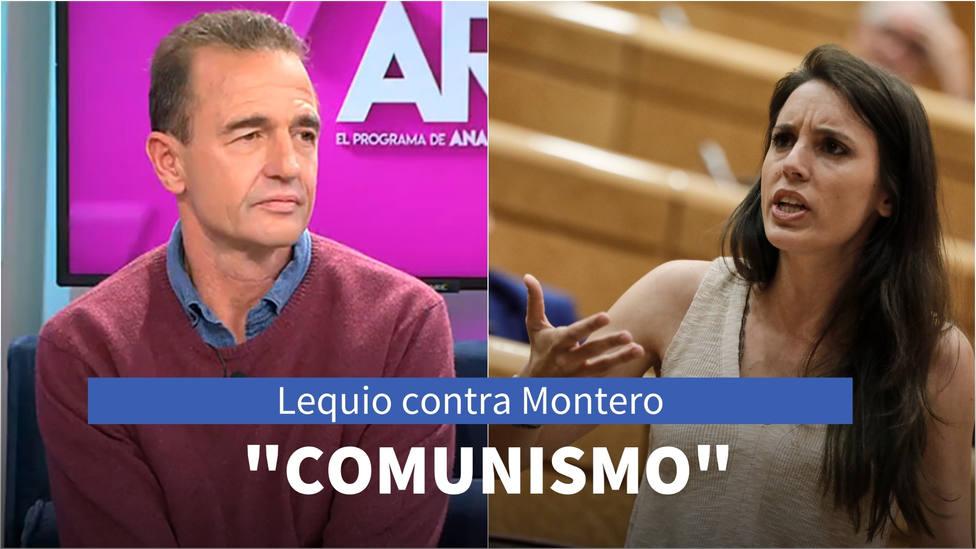 La firme condena de Alessandro Lequio a Irene Montero: Incongruencia del comunismo
