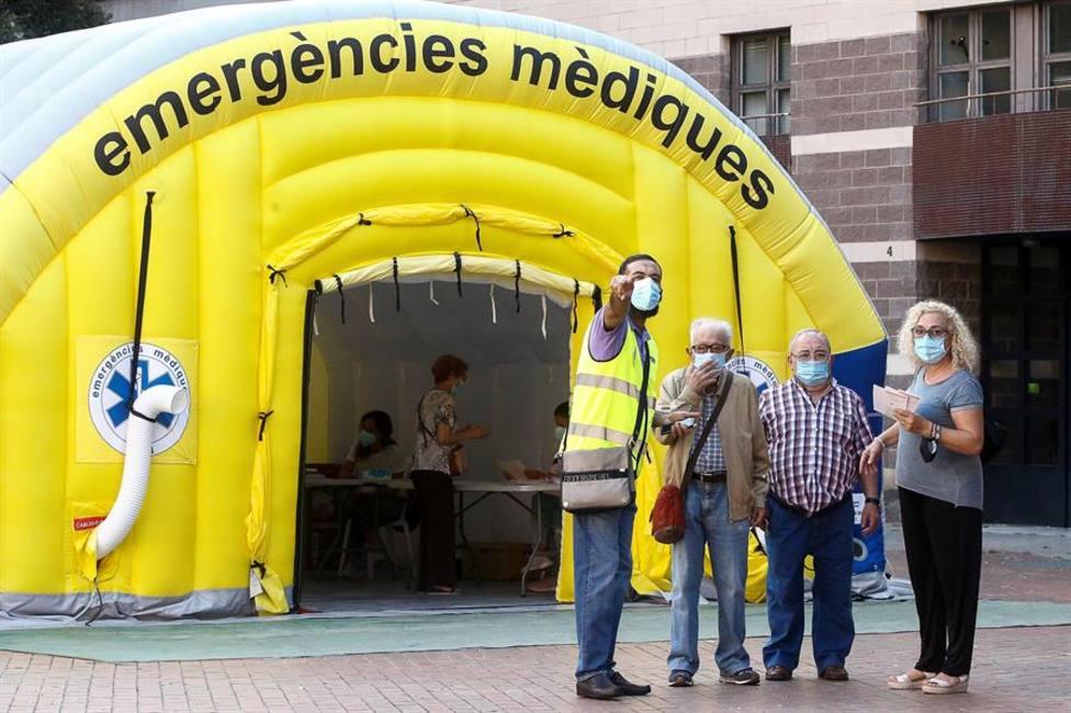 Pruebas PCR en Cataluña, imagen archivo