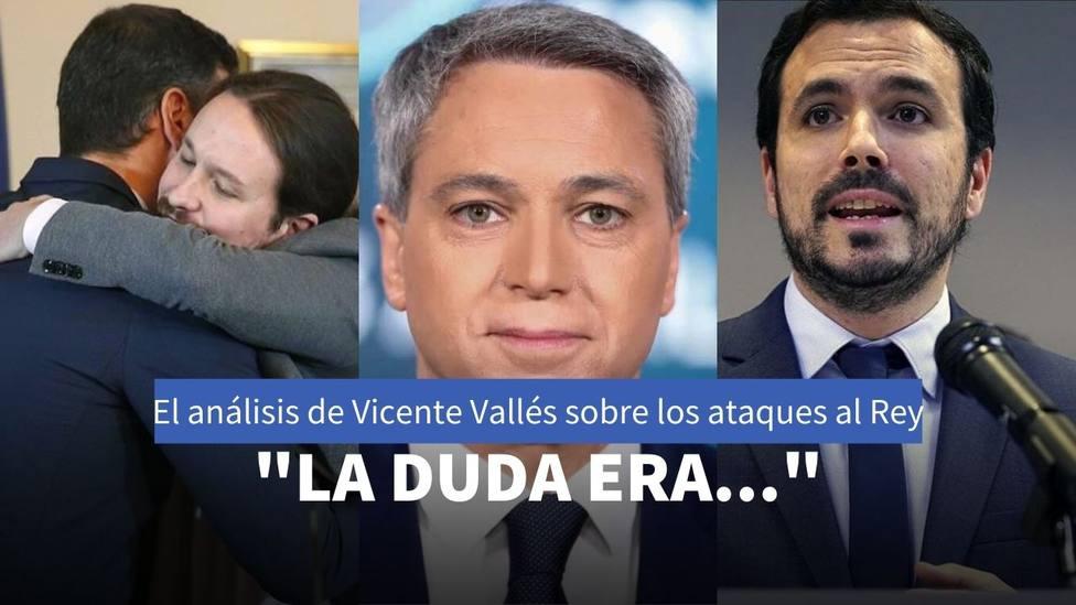 Vicente Vallés y Pedro Sánchez